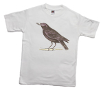 How to print a crow on a T-shirt