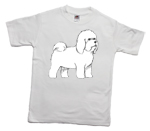 How to print a bichon frise on a T-shirt
