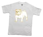 How to print a bulldog on a T-shirt