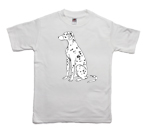 How to print a dalmatian on a T-shirt