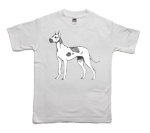 How to print a danish dog on a T-shirt