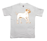 How to print a mastiff on a T-shirt