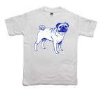 How to print a pug on a T-shirt